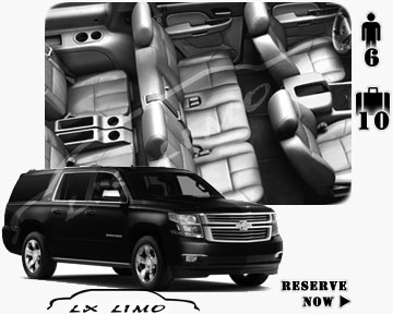 SUV Suburban for hire in Baltimore