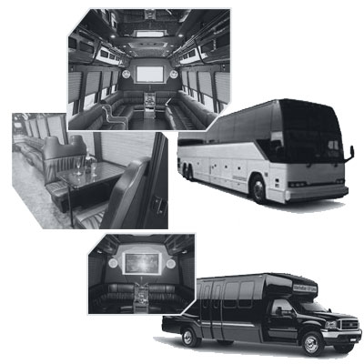 Party Bus rental and Limobus rental in Baltimore, MD