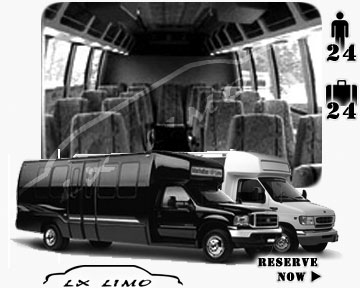 Bus for airport transfers in Baltimore, MD